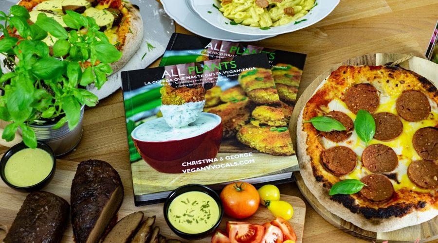 ALL PLANTS La Comida Qué Más Te Gusta, Veganizada El libro acompañado de platos del libro