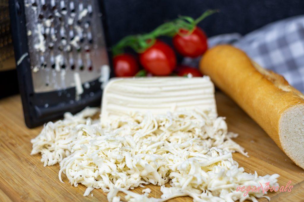 Block-Style Vegan Mozzarella