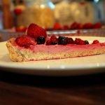 Deliciosa Tarta de Frutos Rojos Vegana