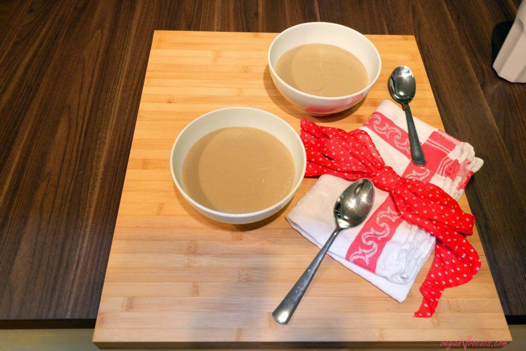 Mushroom Vegan Cream Soup