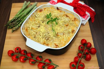 Patatas Gratinadas A La Crema Vegana