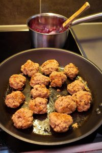 Vegan Swedish No-Meat Balls Christmas Style
