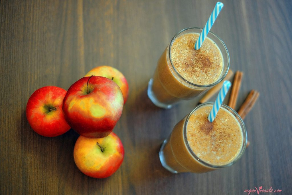 Liquid Apple Pie Vegan Milkshake
