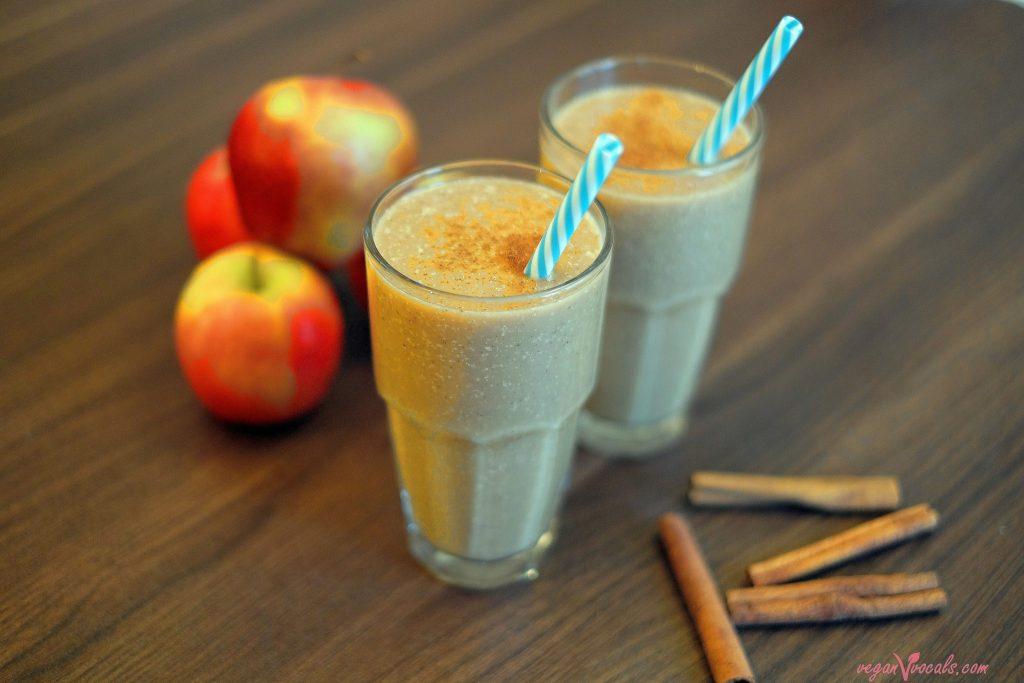 Liquid Apple Pie Vegan Milkshake