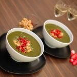 Spinach and Kale Vegan Soup