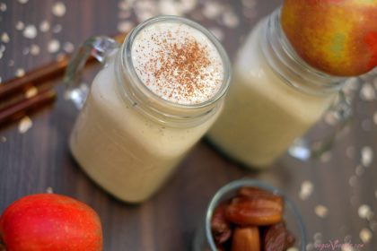 Delicioso Batido Vegano De Manzana