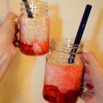 Peanut Butter Strawberry Vegan Milkshake