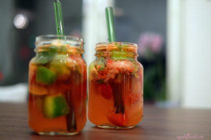 Strawberry Vodka Mojitos
