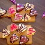 Vegan Gluten-Free Valentine's Love Cookies (No-Bake)