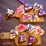 Galletas De San Valentín Veganas, Sin Gluten & Sin Cocción