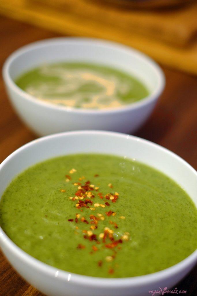 The Green Monster Soup [Vegan]