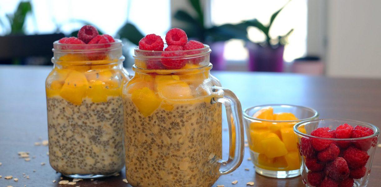 Overnight Pudding De Chia Y Avena Para Desayunar