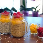 Overnight Oat + Chia Pudding for Breakfast
