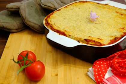 Vegan & Gluten-Free Lasagna Meets Shepherd's Pie