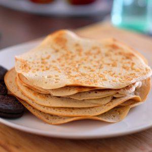 super tasty vegan oil-free pancakes