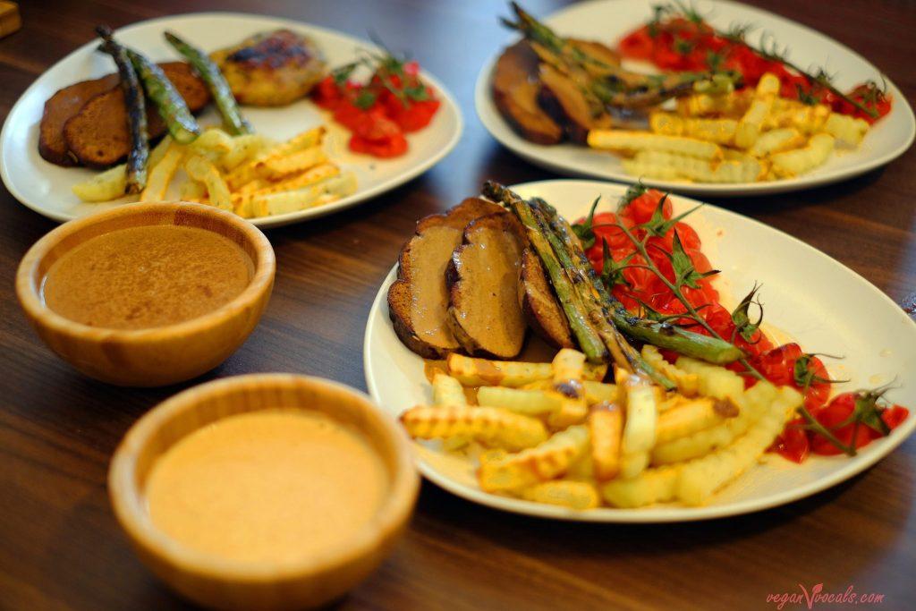 Celebration Seitan Roast for family vegan dinner