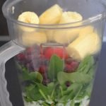 Raw-Vegan Smoothie to Go Made of Whole Foods