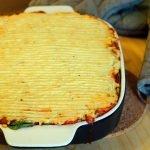 Low-Calorie Vegan Lasagna Meets Shepherd's Pie V2