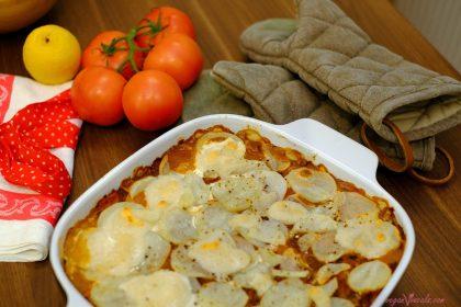 Lasaña de Patata Vegana sin Pasta