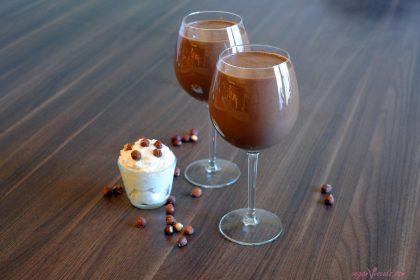 Batido de Nutella Líquida Vegana - Súper Saludable Y Delicioso