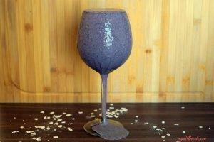 Purple Lemonade Kale Smoothie (Made 100% of Whole Foods)