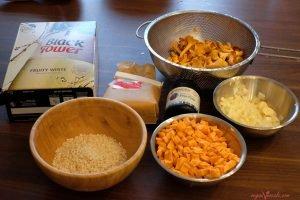 Oil-Free Healthy Sweet Potato & Mushroom Vegan Risotto
