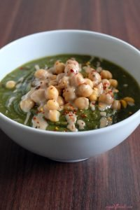 Quick & Easy Vegan Green Soup (100% Whole Foods)