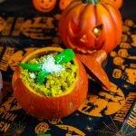 Risotto de Calabaza Vegano (Halloween Special)