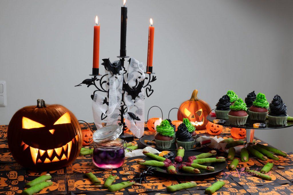 Halloween Vegan Rotten Witch Fingers
