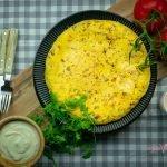 Vegan Tortilla de Patatas - Vegan Spanish Potato Omelette (Egg-Free)