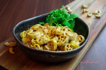 The most Exquisite Mushroom Pasta 100% Made of Whole Foods