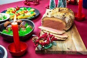 Swedish Style Vegan Christmas Ham (Vegansk Julskinka)