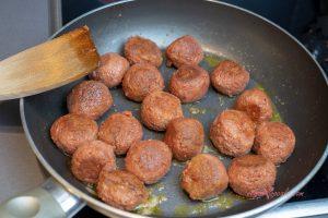 Vegan Swedish Meatballs Christmas Special