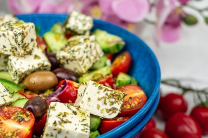 Vegan Greek Salad Vegans 'much less likely to contract severe COVID-19'
