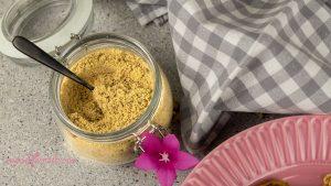Queso Parmesano Vegano de Semillas de Girasol