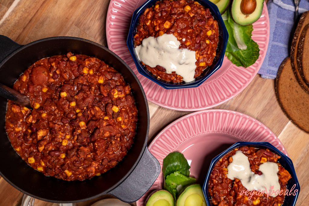 The Best Ever Vegan Chili con Carne