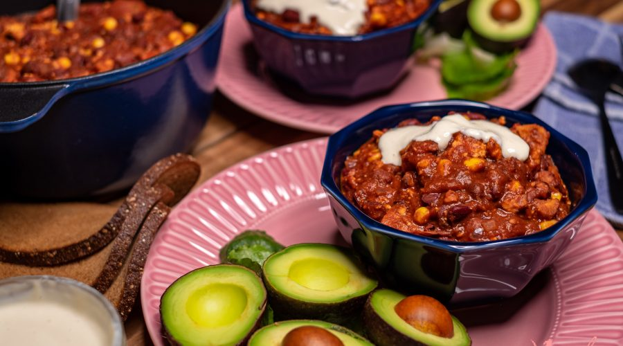 El Mejor Chili con Carne Vegano