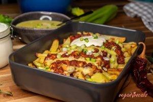 The Best Vegan Chili Cheese Fries
