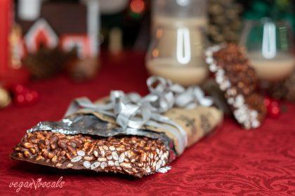 Turrón Vegano de Chocolate con Leche Crujiente