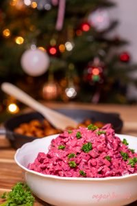 Vegan Swedish Beetroot Salad (Vegansk rödbetssallad)