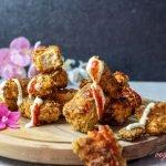KFC Style Spicy Vegan Popcorn Chicken