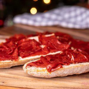Vegan Serrano Cured Ham or Spanish Vegan Jamón