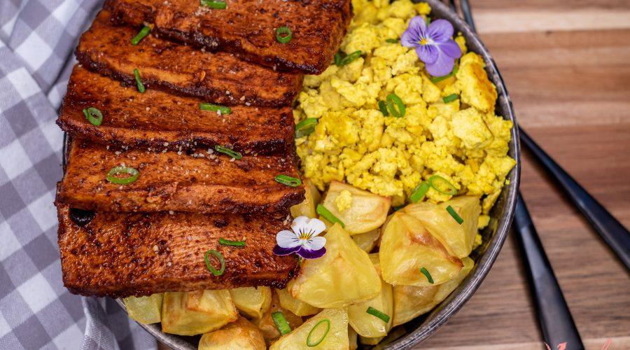 So Easy & Yummy Gluten-Free Vegan Tofu Bacon