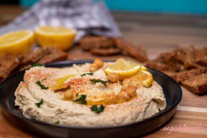 La Mejor Receta de Hummus Que Existe