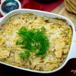 Vegan Jansson's Temptation (Veg Potato&Fish Gratin)