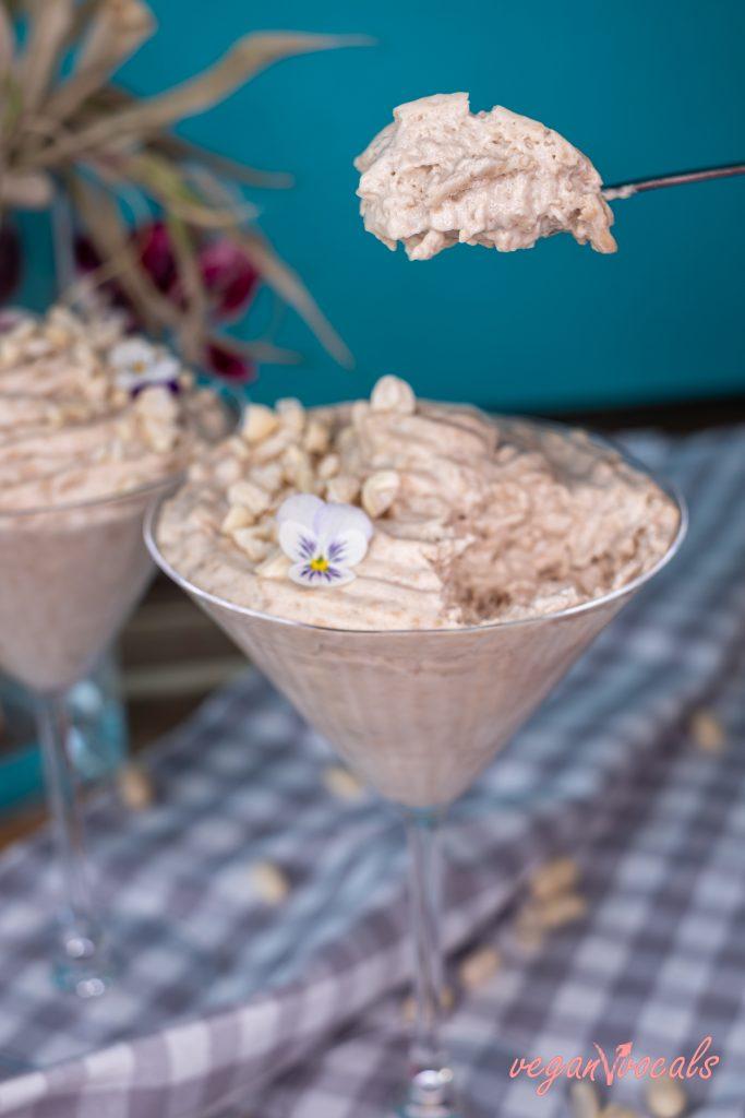The Best Creamy Vegan Peanut Butter Mousse