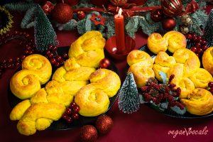Vegan Swedish Saffron Buns