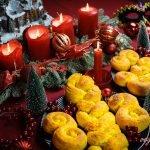 Bollos de Azafrán Suecos Veganos o Lussebullar