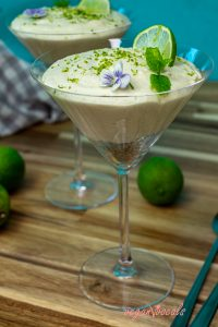 Delicious Gluten-Free & Vegan Key Lime Pie Mousse