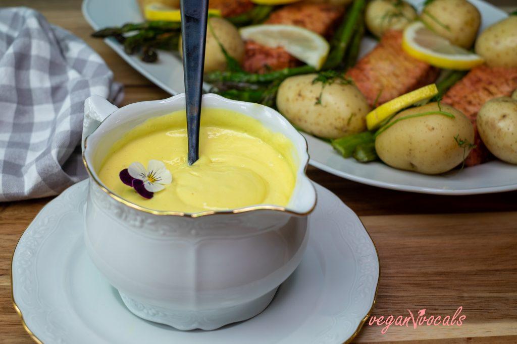 Salsa Holandesa Vegana Exquisita Y Fácil